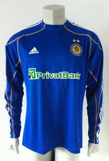 Dynamo Kyiv player issue shirt 2009/10, worn by ukrainian Anriy Yarmolenko