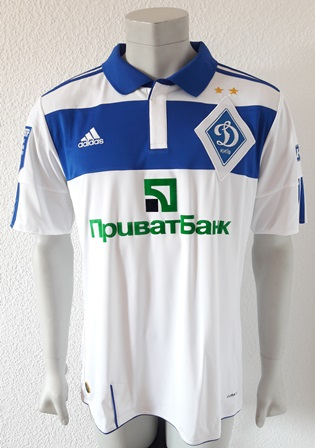 Dynamo Kyiv Kiev match shirt 11/12, worn by Brown Ideye