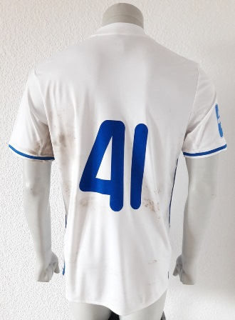 Dynamo Kyiv Kiev match worn shirt 18/19, by Artem Besedin