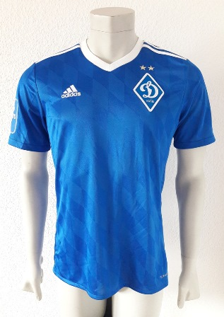 Dynamo Kyiv Kiev player issue shirt 18/19, by Mykola Shaparenko