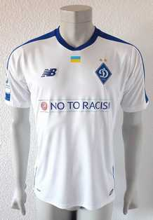 Dynamo Kyiv Kiev match shirt 18/19, worn by Mykola Shaparenko, made by New Balance